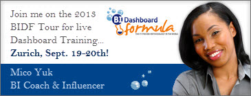 BI Dashboard Formula Tour 2013