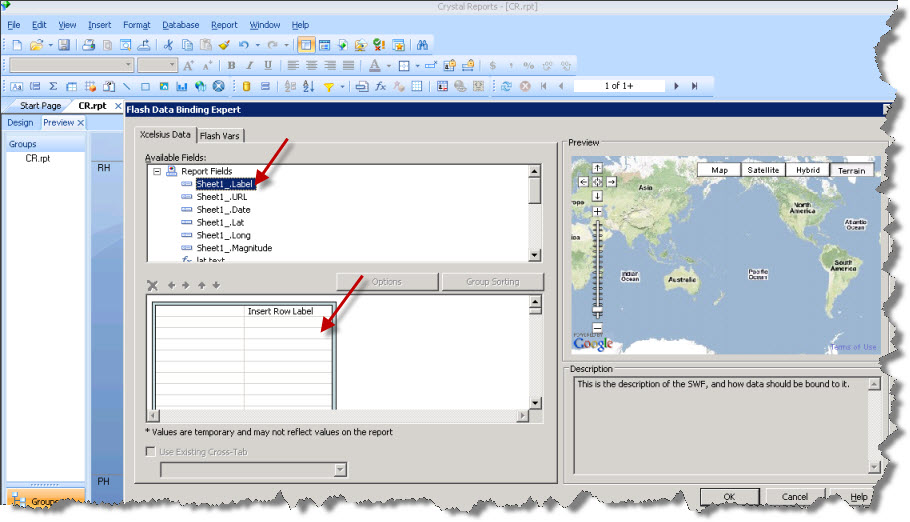 how to add parameter field in crystal report 2008