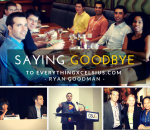 Saying Good bye Ryan Goodman